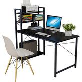 Computer Schreibtisch Einfache Bücherregal Kombination Desktop Tisch Student Home Schlafzimmer Einfacher Lerntisch für Home Office