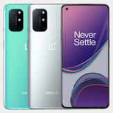 OnePlus 8T 5G Global Rom NFC Android 11 8GB 128GB Snapdragon 865 6,55 inci FHD + HDR10 + 120Hz Fluid AMOLED Layar 48MP Quad Kamera 65W Warp Charge Smartphone