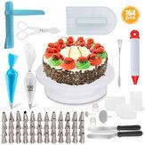 164PCS sütőipari készlet DIY torta cupcake díszítő jegesedési tippek készlet eszközök