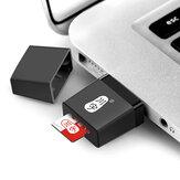 Minilecteurdecartemémoireportable USB2.0 TF Card pour téléphone portable Tablet PC