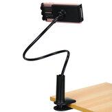 普遍的な怠惰な携帯電話ホルダースタンド調節可能な柔軟なブラケットクリップベッド
