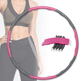 CHARMINER Abnehmbare 8-Abschnitte Fitness Circle Body Shaping Slimming Circle Home Fitness Gymnastikgeräte