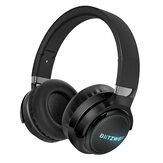 BlitzWolf® BW-HP0 Pro Wireless bluetooth Headphone RGB Light HiFi Stereo Bass 1000mAh AUX TF Card Noise Canceling Mic Gaming Headset
