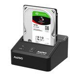 MAIWO K300U3S USB3.0 para SATA Docking Station Base do gabinete do disco rígido para disco rígido SSD 2,5 / 3,5