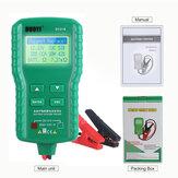 12 V Carro Digital Bateria Tester AH CCA Corrente de Tensão Bateria Analisador de Carga Multifuncional Ferramenta de Reparo Do Carro de Diagnóstico