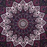 Étoile indienne tapisserie Hippie Mandala impression psychédélique tenture murale tapisserie photographique tissu Art décor à la maison pour les décorations