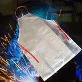 Tablier de travail résistant à la chaleur 1000 Apr Tablier en aluminium de sécurité en tissu Tabliers à rayonnement thermique fonctionnant à haute température