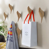 KCASA KC-488 Bird Shape 3D Wall Hooks Resin Bird Decoration Coat Towel Storage Hook Single Wall Hanger Home Bathroom Bedroom Decor