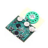 3 adet Programlanabilir Müzik Kurulu Tebrik Kartı DIY Hediyeler Için 30 secs 30 S Anahtar Kontrol Ses Ses Ses Kaydedilebilir Kaydedici Modülü