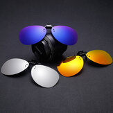 Clip-on Night Vision UV400 Polarized lente Occhiali