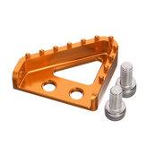 CNC Billet Rear Brake Pedal Stapplaat Tip Voor Enduro Motocross KTM 125-530 XCF