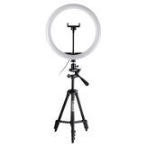 20cm 26cm 30cm LED Ring Light 3500-6500K 3 Color 10 Brightness Dimmable Makeup Beauty Fill Light for Youtube Live Tiktok Streaming Broadcast for 360° Rotation with 110cm Tripod
