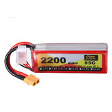 ZOP Power 11.1V 2200mAh 95C 3S Lipo Batería XT60 Enchufe para RC Racing Drone