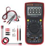 ANENGAN882B+TrueRMSDigitalmultimeter 6000 Counts mit AutomatischeReichweite Hintergrundbeleuchtung Daten halten AC / DC Spannung und Strom Test Temperaturmessung