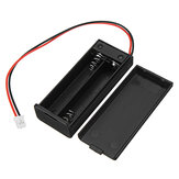 KittenBot® 6.5*2.8cm 2 Section Battery Holder For AAA 7 Batteries With Switch & PH2.0 Terminal Line