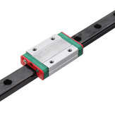 Machifit MGN12 100-1000mm Black Oxide Linear Rail Guide with MGN12H Linear Sliding Guide Block CNC Parts