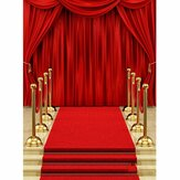 5x7FT Podium Red Carpet Curtain Wedding Photo Video Studio Props Photography Vinyl Backdrop Background