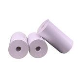 10 rolos de papel de recibo térmico branco 57 mm x 30 mm