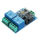 3 stücke 5V ESP8266 Dual WiFi Relaismodul Internet Der Dinge Smart Home Mobile APP Fernschalter