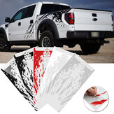 2 UNIDS Vinyl Coche Side Bed Barro Splash Kit Decal Stickers Ajuste para Ford Raptor SVT F-150 2009-2018