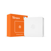 SONOFF SNZB-01 - ZB SKUF37820 Switch sem fio Mini Size Link ZB Bridge com dispositivos WiFi Torne-os mais inteligentes via eWeLink APP IFTTT