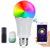E27 7 W SMD5050 600LM RGBW WIFI APP Controle LED Smart Light Bulb voor Alexa Google Home AC85-265V