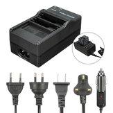 AHDBT-501 Аккумулятор двойной порт Слот зарядное устройство зарядное док-станция для Gopro Hero 5 Camera