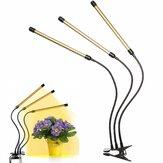 3 cabezales 108LED 54W Planta Crecimiento Lámpara Cultivo de flores Hidroponía ligera Espectro completo