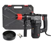 1680W 220V Electric Rotary Hammer Drill Impact Drill Demolition Kit