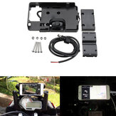 GPS USB Navigation Phone Bracket Charger For BMW S1000R S1000XR R1200GS R1200R