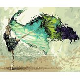 40X50CM Dancer Digitale Acryl Schilderen DIY Zelfgemaakte Paint Kit Home Decor Without Frame