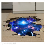 3d Stereo Wall Sticker Starry Space Space Decoration Painting Wall Decoration Sticker