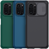 [Upgrade Version] Nillkin for POCO F3 Global Version Case Bumper with Lens Cover Shockproof Anti-Scratch TPU + PC Protective Case
