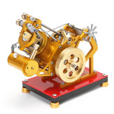 SaiHu V1-45 Stirling Engine Model Educatieve Ontdekking Toy Kit Collection Gift