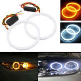 Par 60/70/80/90/100 / 110mm 2835 LED Angel Eyes Lights Halo Ring DRL Luz de señal de giro