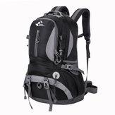 Borsa a tracolla viaggio zaino di alpinismo 40L arrampicata all'aperto nylon impermeabile pacchetto