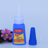 20g 401 Glue Quick-drying Plastic Metal Nail Art Instant Adhesive Grease Glue