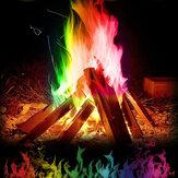 15g fiamma mistica colorata Magia fiamma per falò falò camino camino fiamme polvere Magia trucco giocattolo pirotecnica
