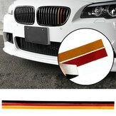 M-Sport parrilla de la parrilla tira de vinilo etiqueta engomada para bmw m3 e46 e90 m5 bandera alemana