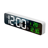 USB LED 3D Music Dual Wecker Thermometer Temperatur Datum HD LED Anzeige Electronic Desktop Digital Table Clocks