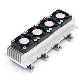 クアッドコアTEC1-12706熱電ペルチェ冷却装置空気冷凍DIYラジエーター