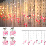 AC220V 3.5 M 96 LED Flamingo String Light Fairy Fata lampada Matrimonio Coperta Home Decor Spina UE