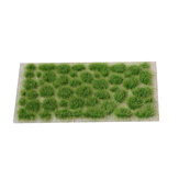 Modellszene Vegetation Grass Strip Cluster Zug Layout Landschaftsdekorationen