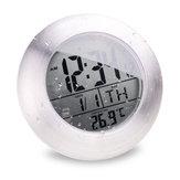 Salle de bains EMATE capteur temparture imperméable horloge électronique numérique avec ventouse et le support