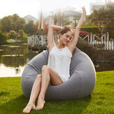 Waterproof Bean Bag Chair Cover Sofa Seat Polyester Indoor Outdoor For Adult
