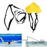 حزام سباحة مقاوم للسباحة تدريب قوة الأطفال الكبار السباحة حبل الرجال النساء