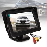 4.3 Inch LCD Car Rear View Monitor Screen Reverse Camera Kit DVD VCR