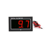 DC 2.5-30V 2-Wire LED Digital Display Panel Voltmeter Electric Voltage Meter Volt Tester