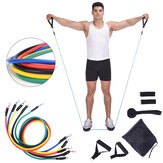 11 Stück / Set Home Resistance Bands Satz Set Yoga Band Gym Pull Rope Fitness Training Trainingsgeräte