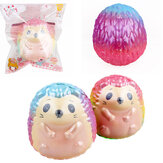 Hedgehog Squishy 9,5 * 8,5 cm långsam stigande Soft Toy Gift Collection med förpackning